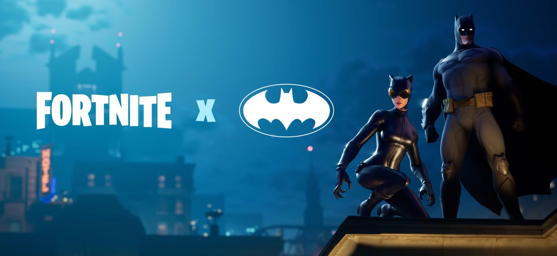 batman and cat woman is coming to fortnite as part of fortnite's new dc crossover