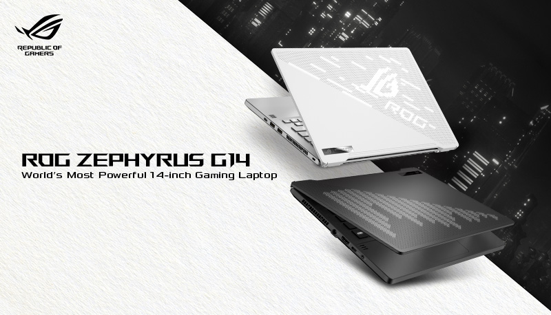 asus ROG zephyrus G14 will have amd's new 4900HS APU and RTX 2060