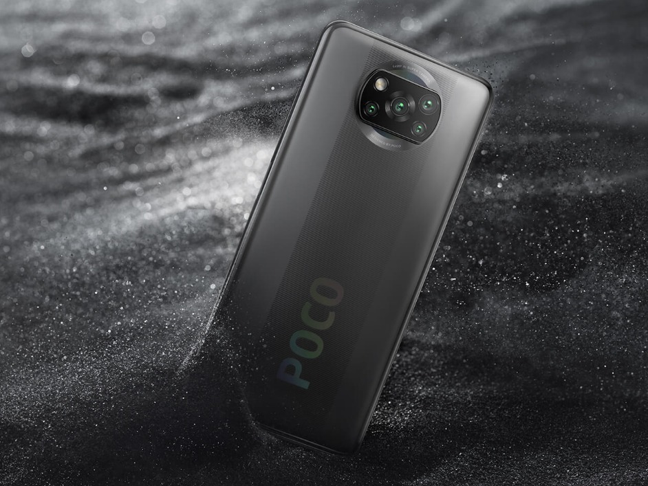 poco x3 nfc with snapdragon 732G and 120Hz display