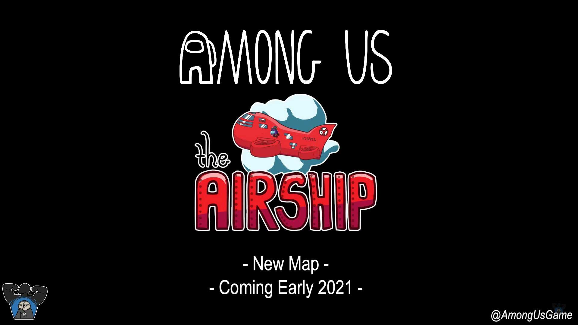 Among us announced new map the airship