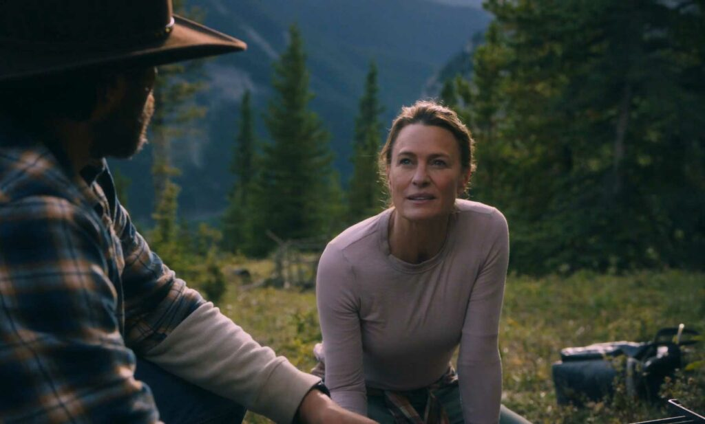 robin wright in land movie