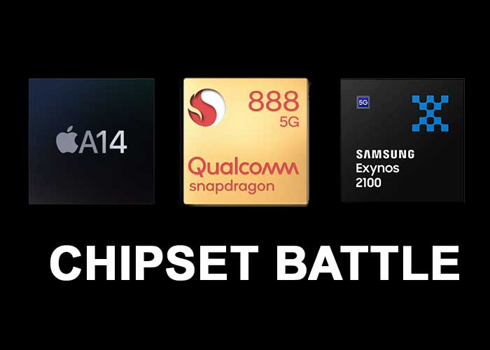 Snapdragon 888, exynos 2100 and a14 full detail comparison
