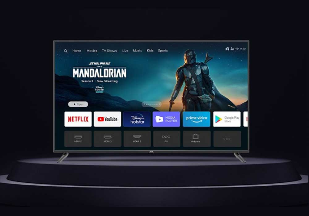 redmi smart tv x series with 4k resolution and HDR10+