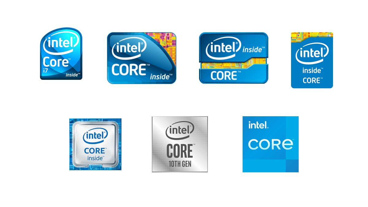 all generations of intel CPUs
