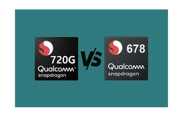 snapdragon 678 and snapdragon 720g antutu and geekbench